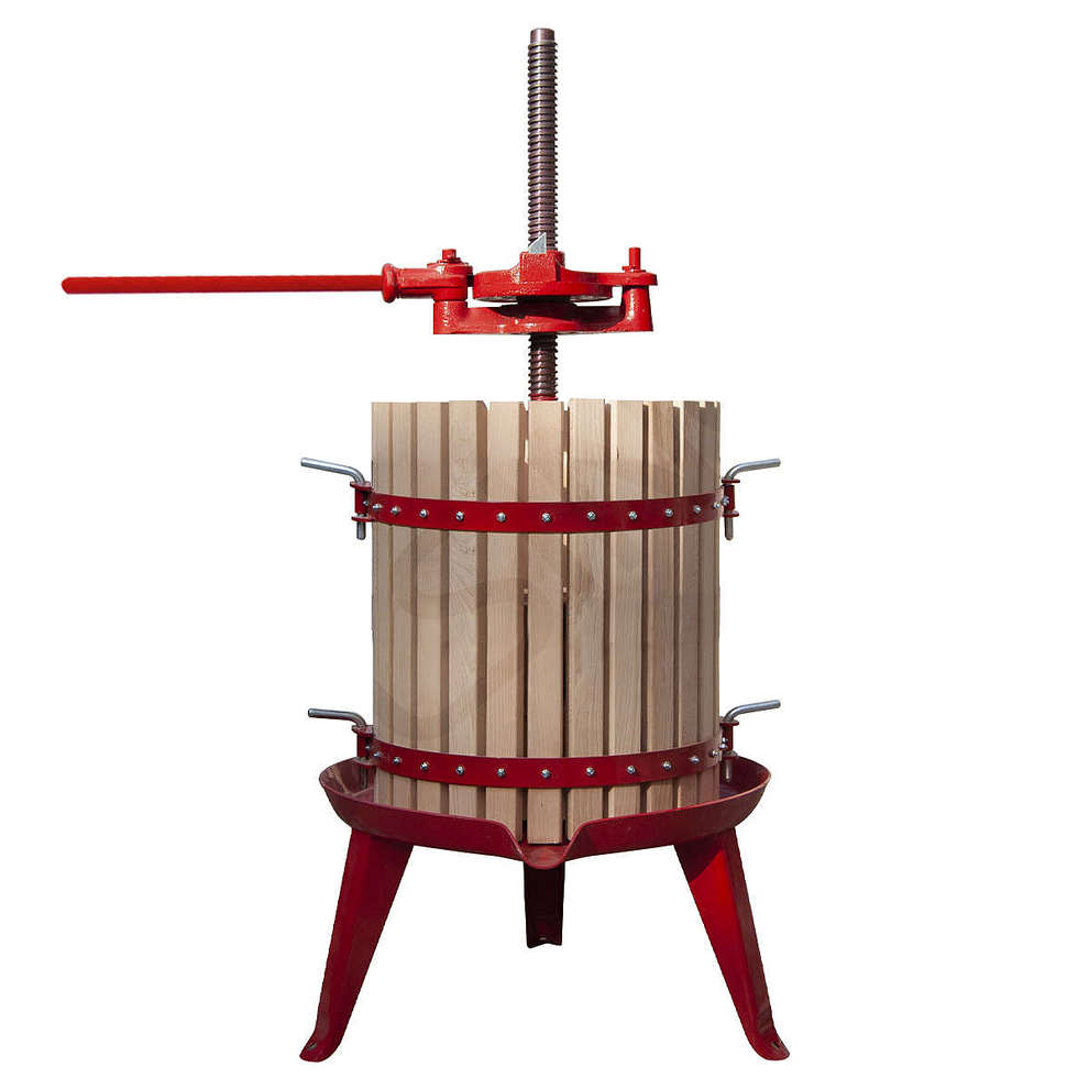 #30 ratchet wine press