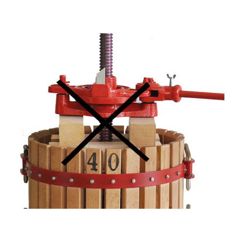 #40 ratchet wine press