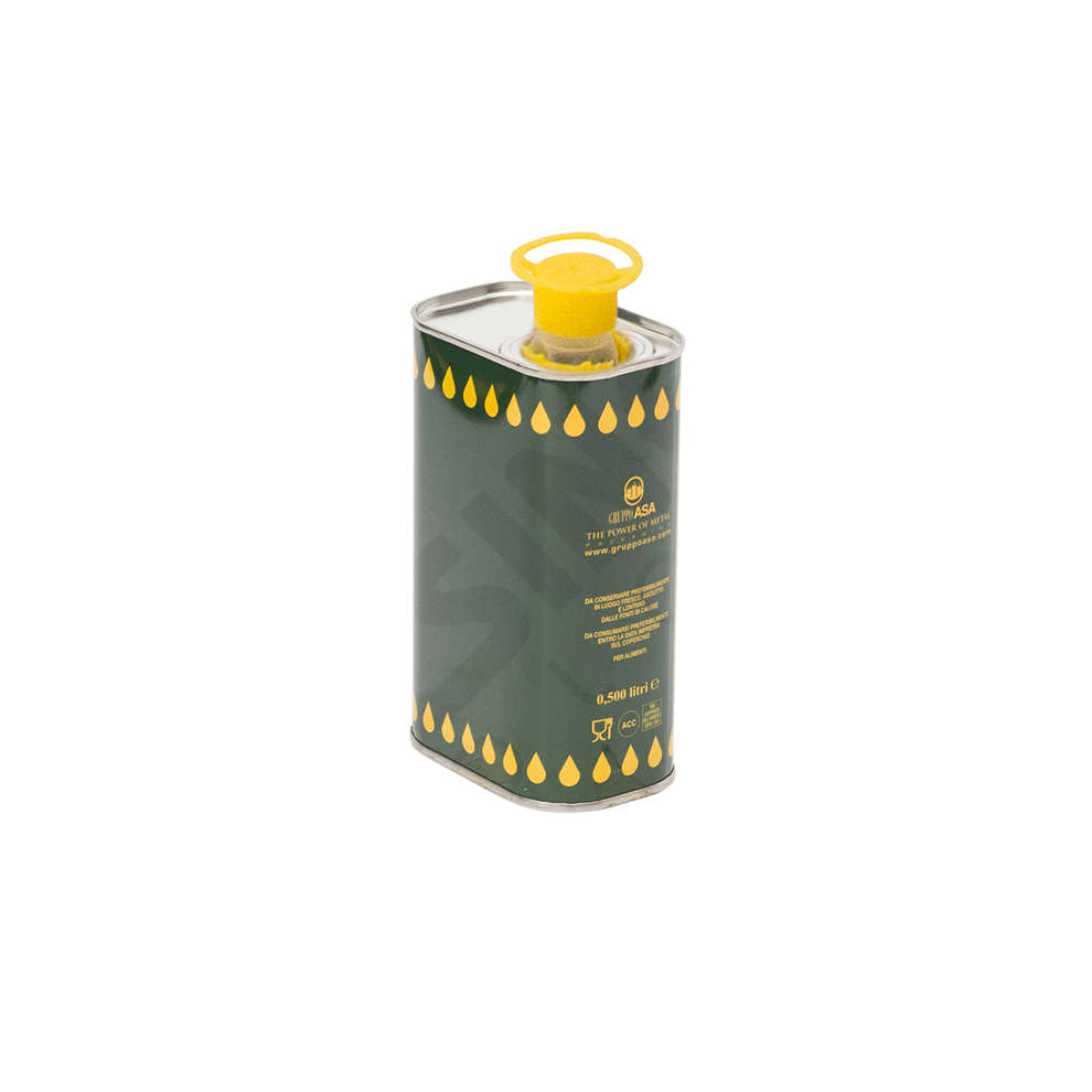 0.5 L olive oil tin can (28 pieces)
