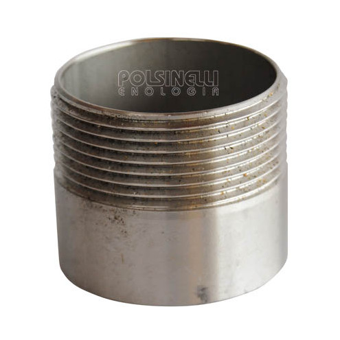 "1"" 1/2 stainless steel stub"