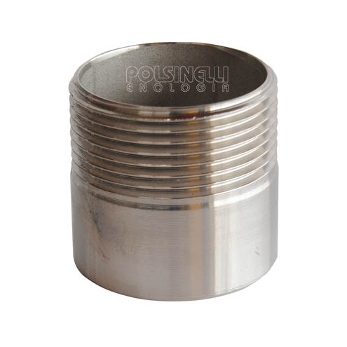 "1"" 1/4 stainless steel stub"