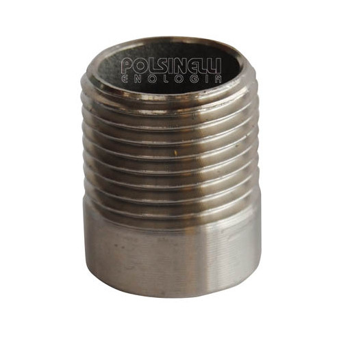 "1/2"" stainless steel stub"