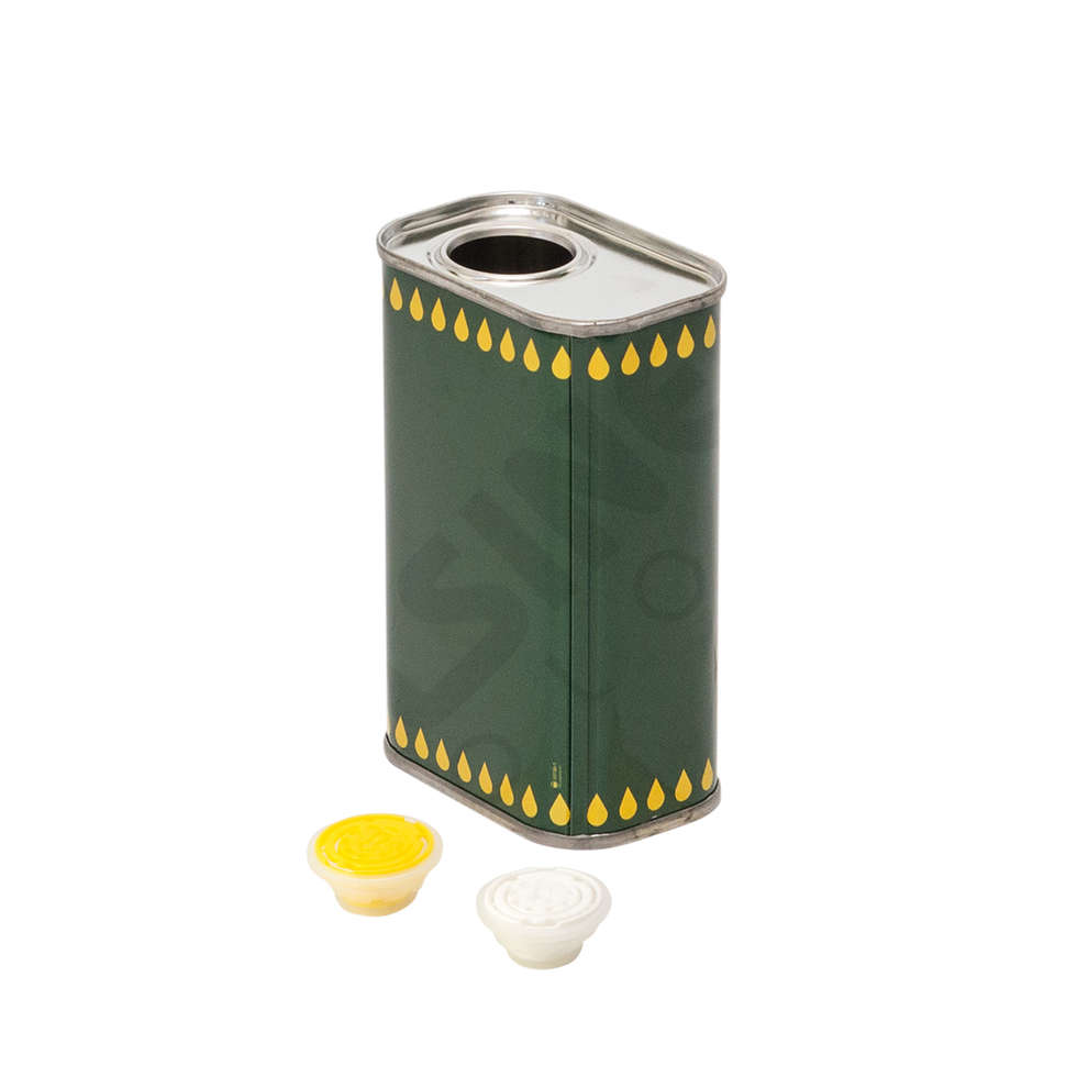 1 L olive oil tin can (24 pieces)