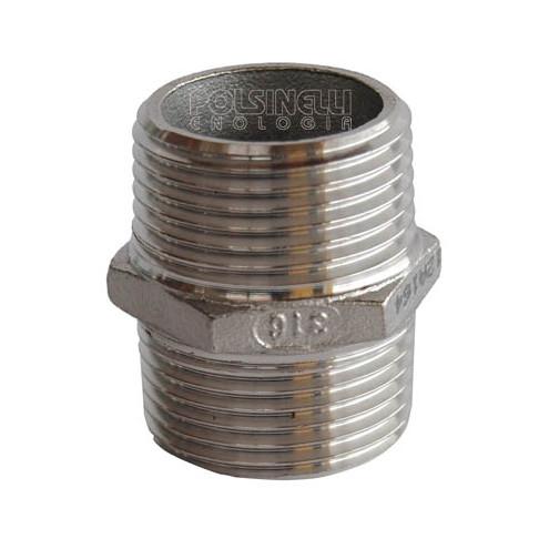 """1"""" stainless steel nipple"""