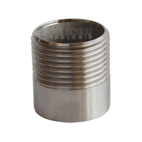"1"" stainless steel stub"