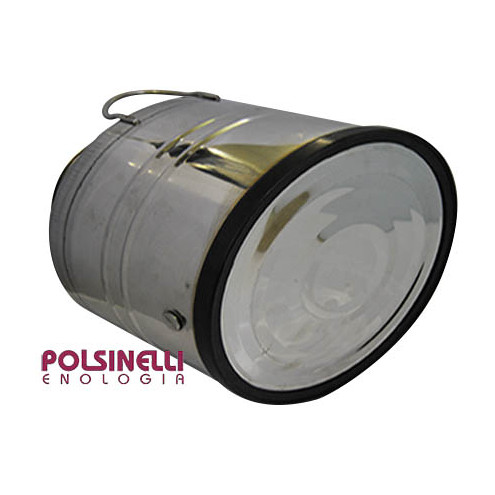 10 L stainless steel drum smooth bottom