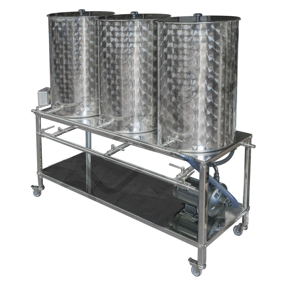100 CIP Washing system  with Resistance heater