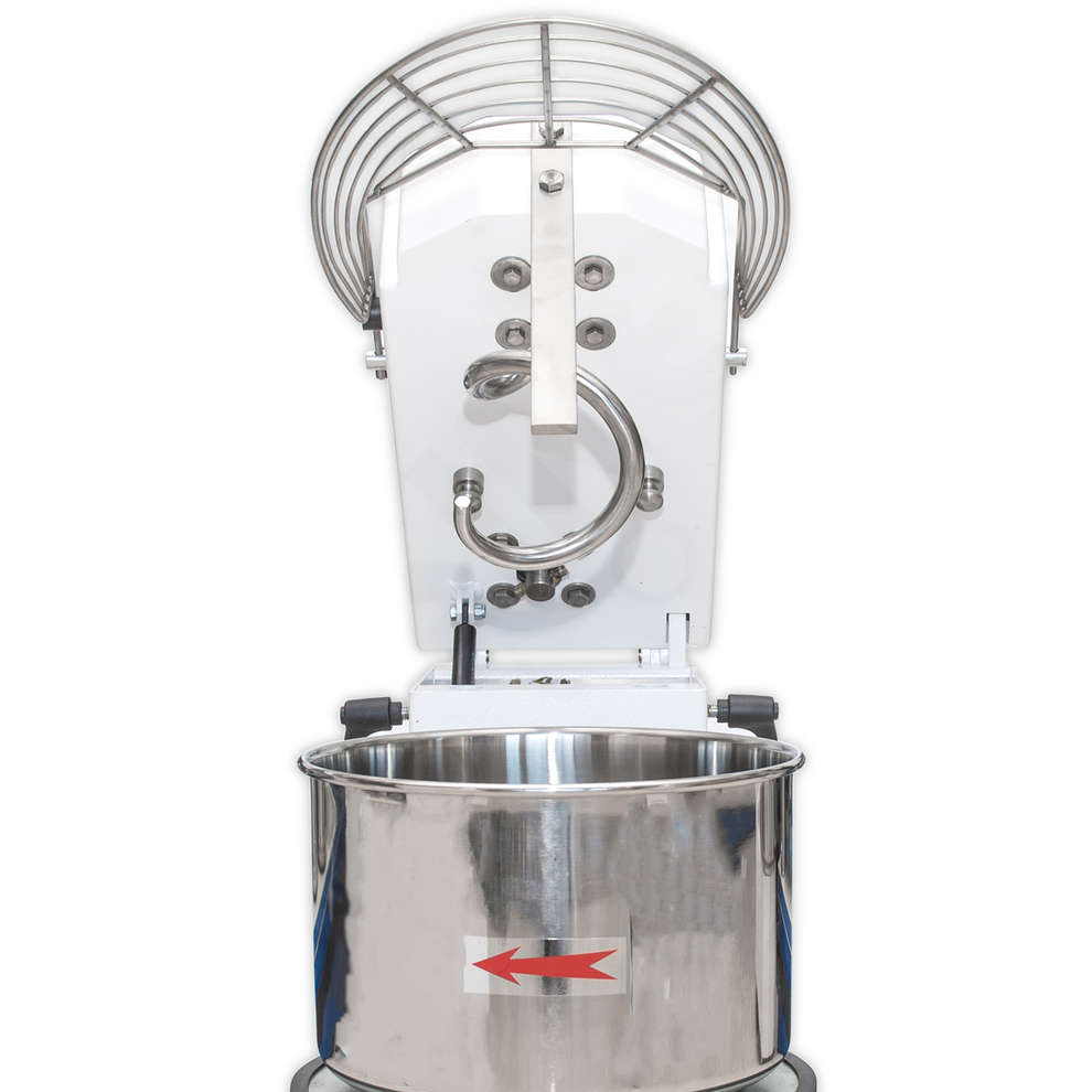 12 kg spiral kneading machine with removable bowl