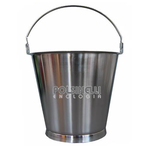15 L stainless steel bucket