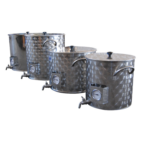 150 L pot for beer brewing