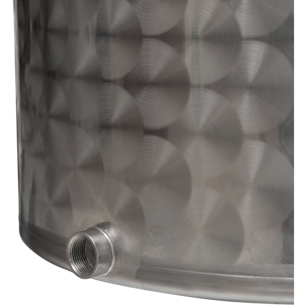 150 L  stainless steel pot with tap