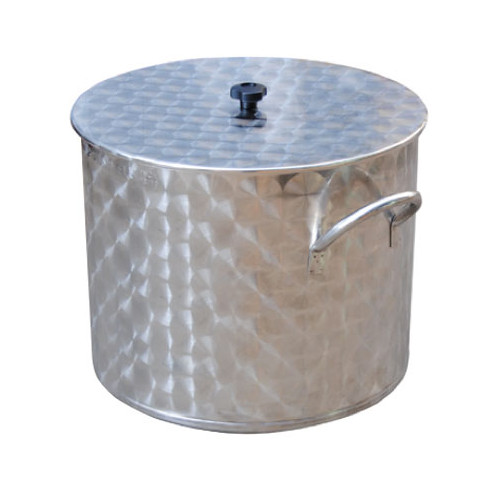 150 L stainless steel pot
