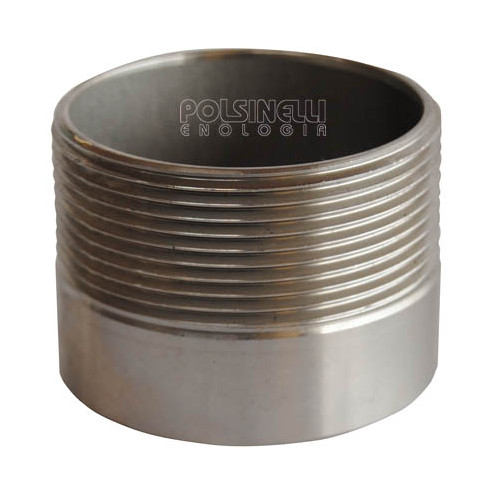 "2"" stainless steel stub"