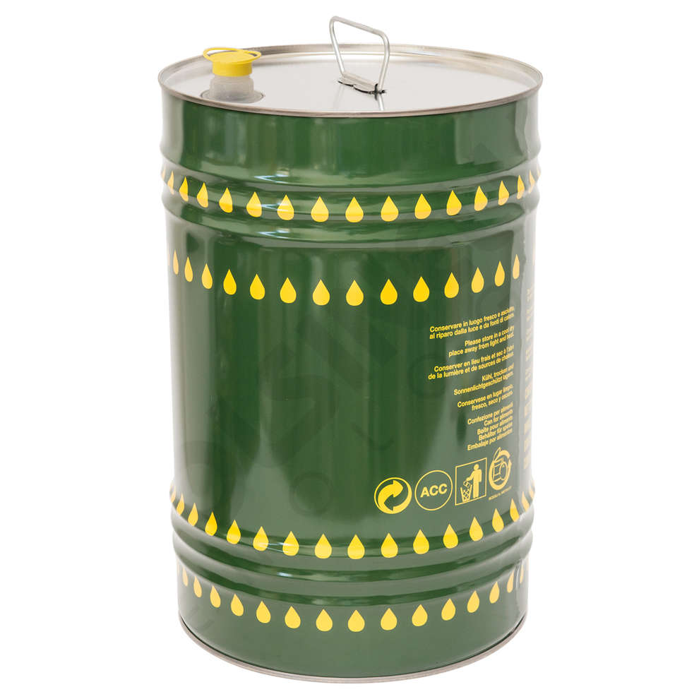 25 L olive oil tin can (1 pieces)