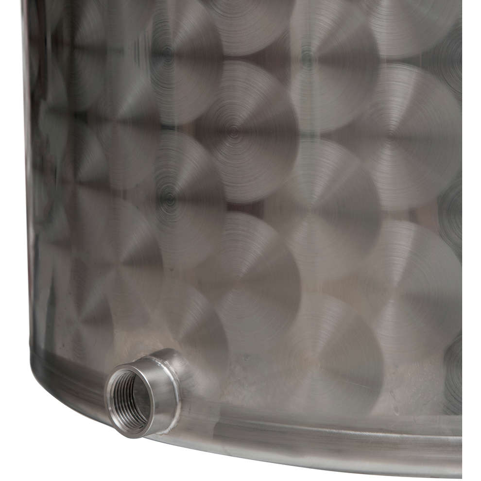 25 L stainless steel pot with tap