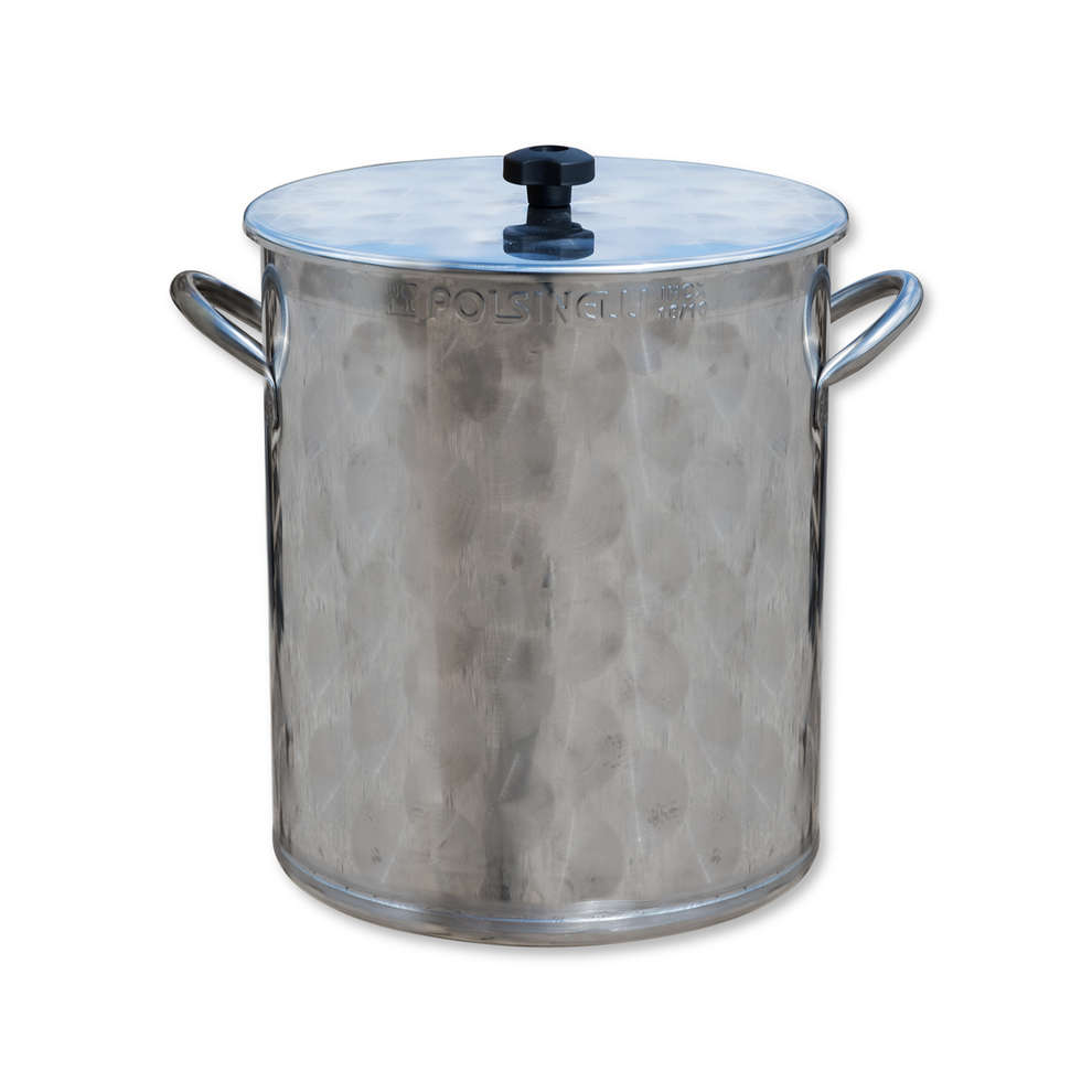 25 L stainless steel pot