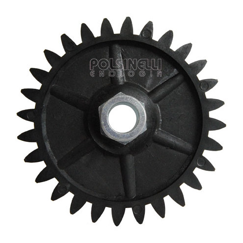 28 dientes de las ruedas, llevaban ⌀18 mm