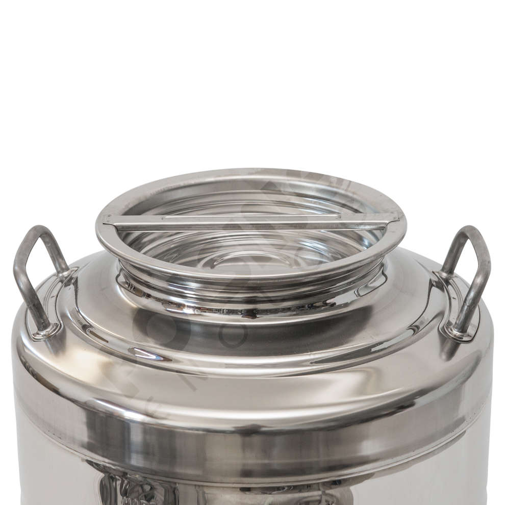 30 L stainless steel drum smooth bottom