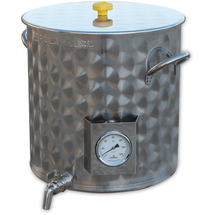 35 L pot for beer brewing