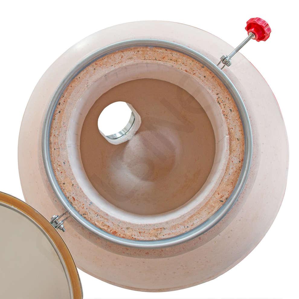 350 L  Amphora aus Cocciopesto