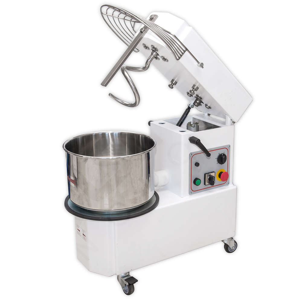 38 kg spiral kneading machine with removable bowl
