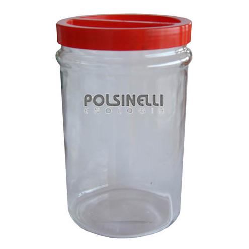 5 L glass jar with screw cap (6 pieces)