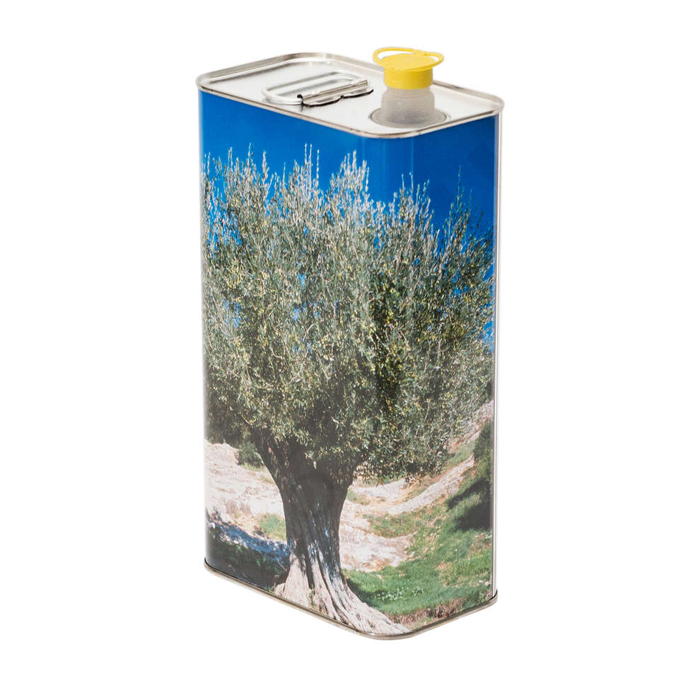 5 L olive oil tin can Albero (12 pcs)