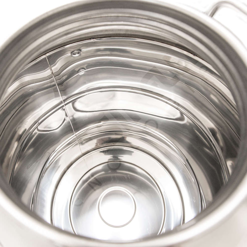 50 L stainless steel drum smooth bottom