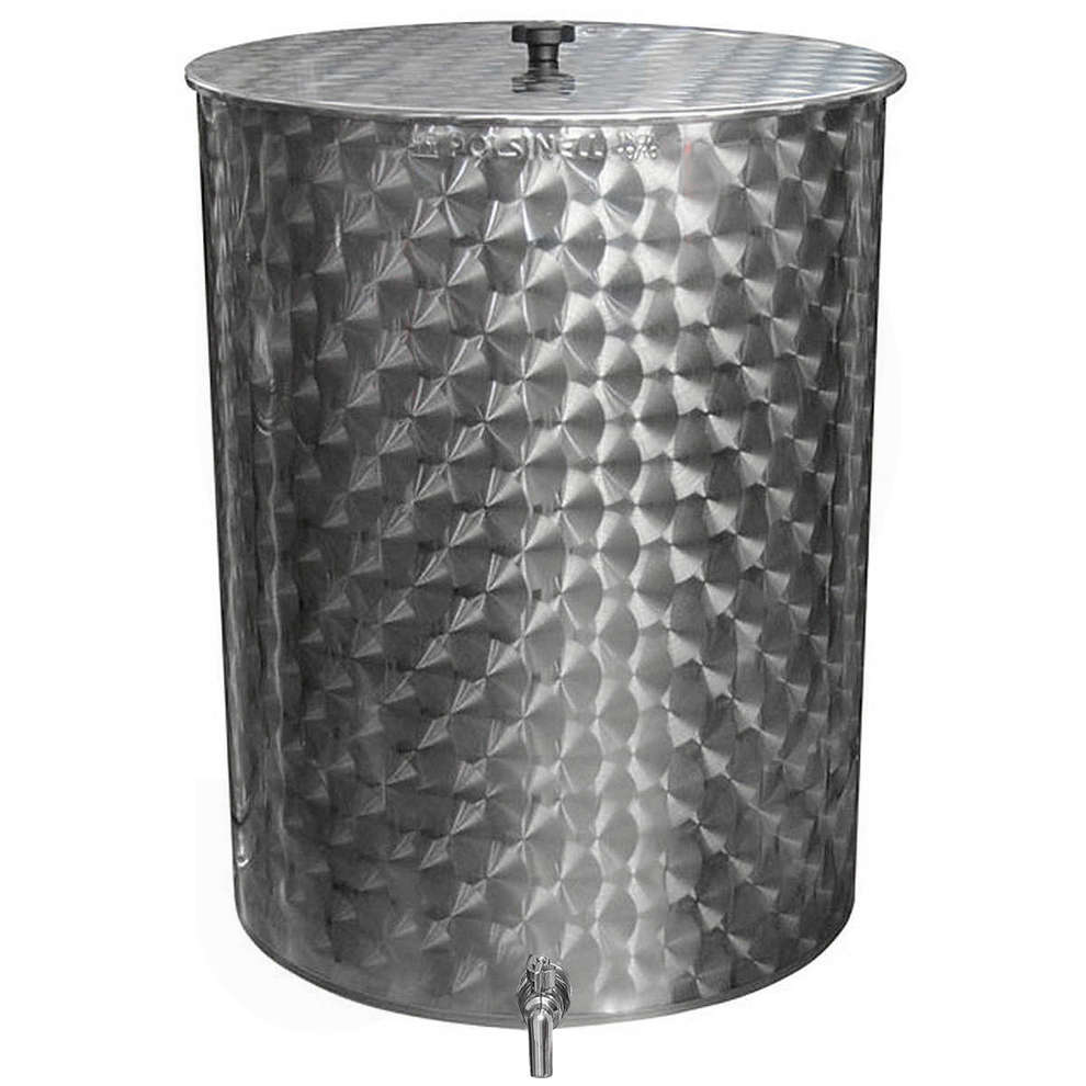 600 L stainless steel olive oil tank