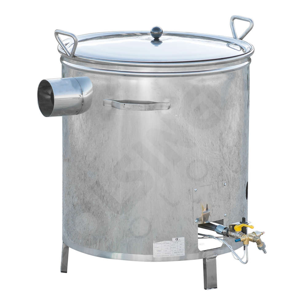70 L stainless steel gas cooking cauldron