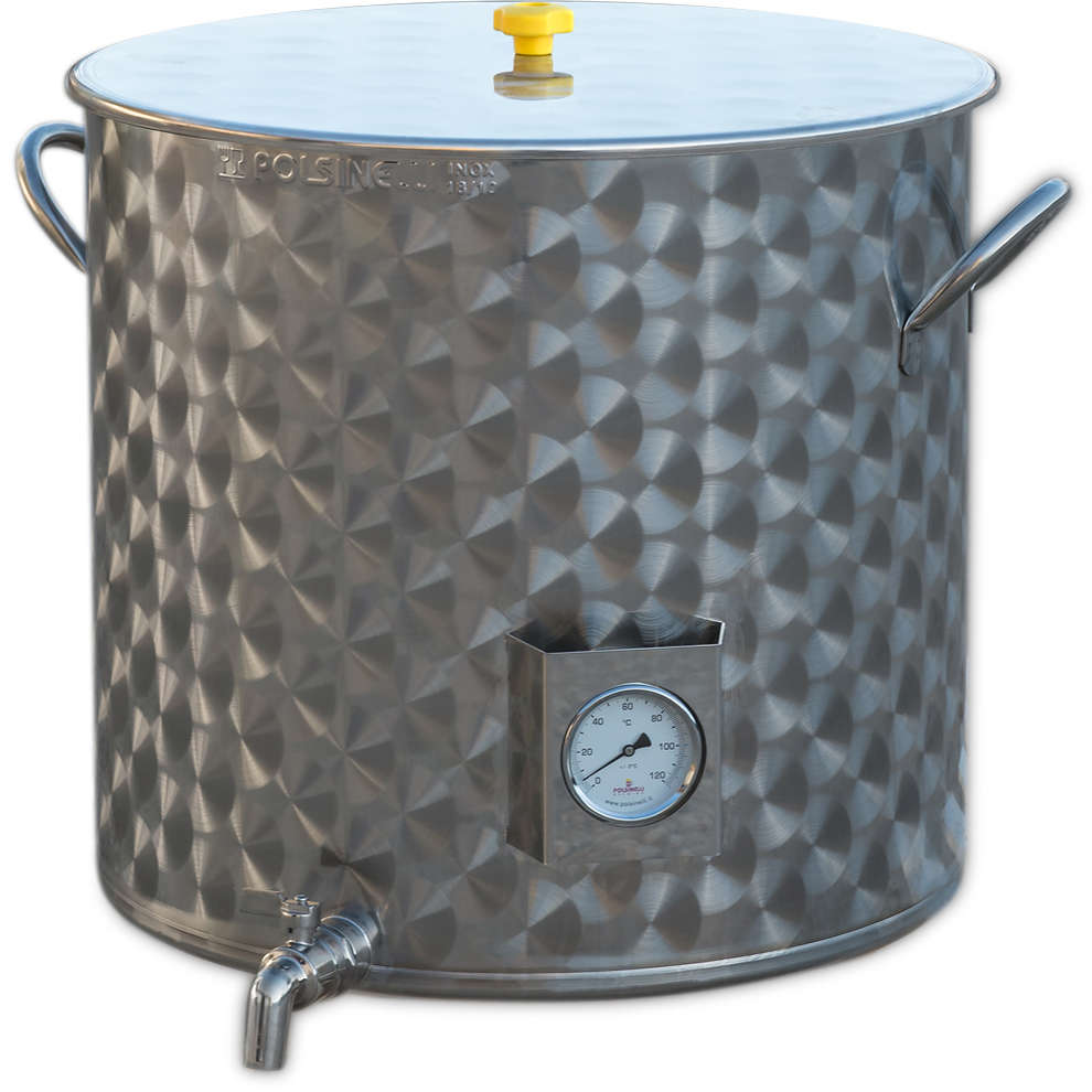 75 L pot for beer brewing