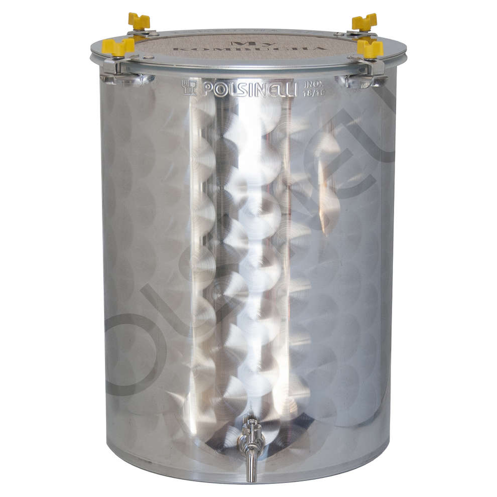 75 L stainless steel Kombucha fermenter