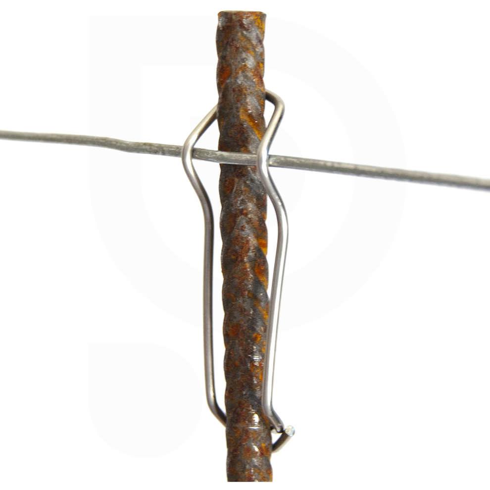 Abrazadera de alambre Livio tamaño 6/10 (unid. 25)