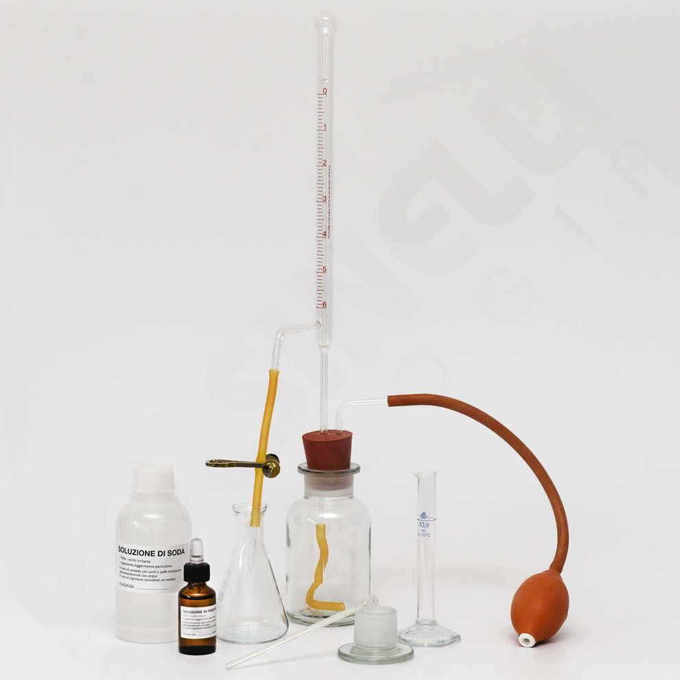 Acidímetro para aceite