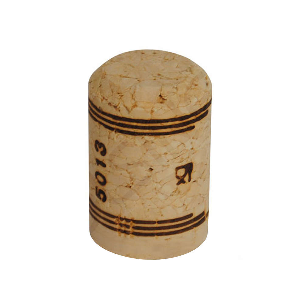 Agglomerated cork stopper spumantino 26,5x42 (100 pcs)