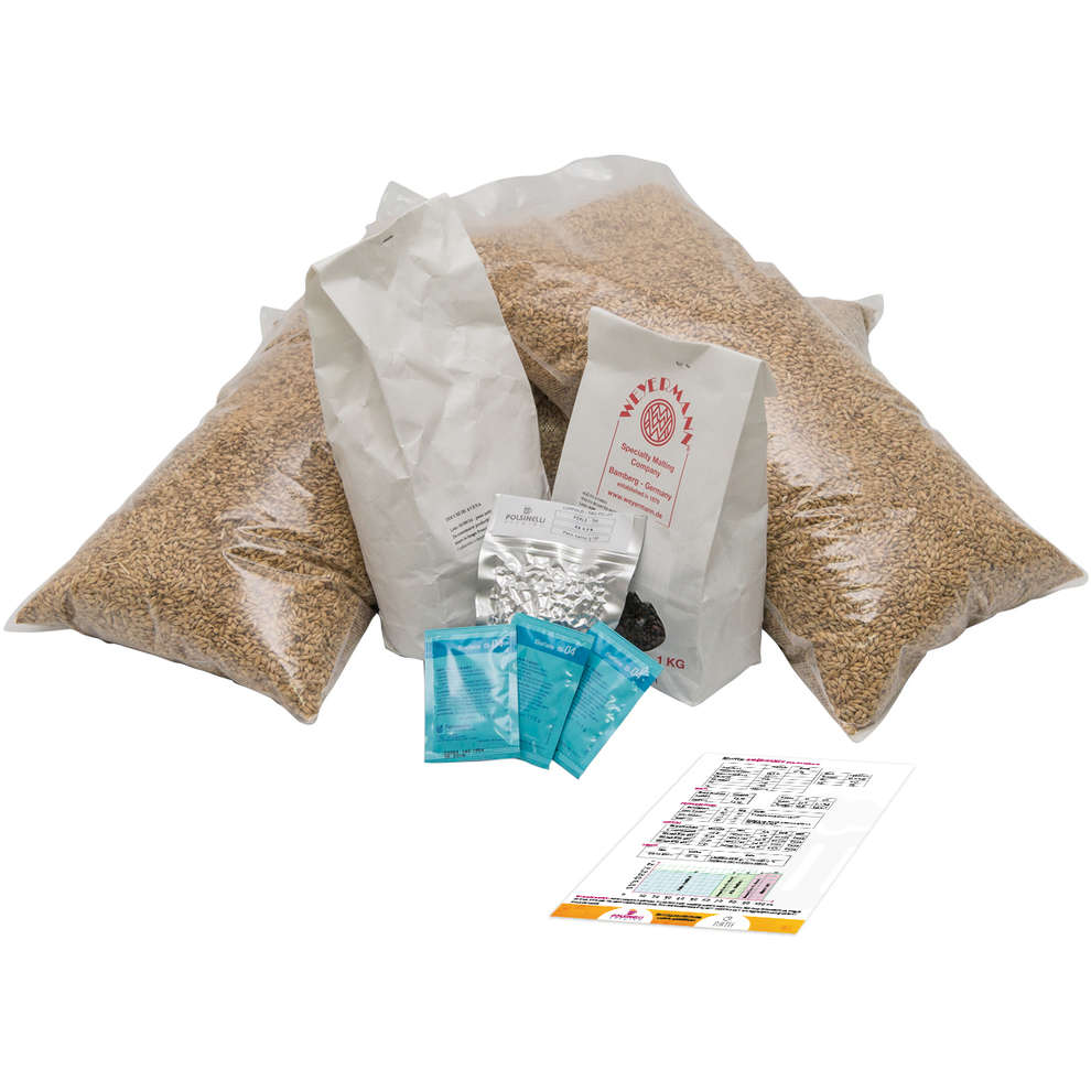 All grain Kit Neravena für 50 lt – Oatmeal Stout