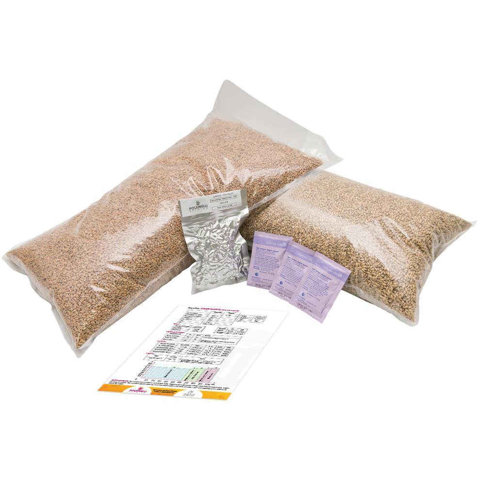 All grain kit Triticum for 55 lt – Weiss