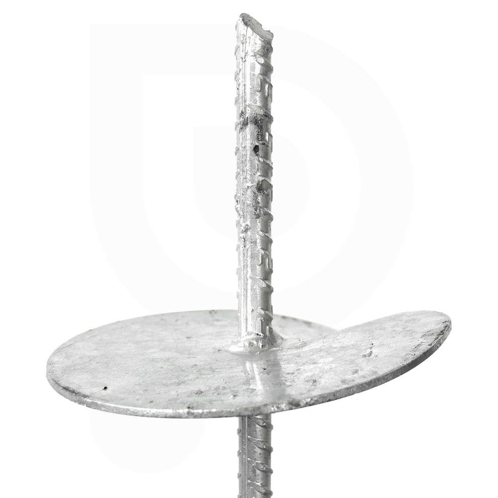 Ancora elicoidale zincata a caldo - 1 mt (2 pz)