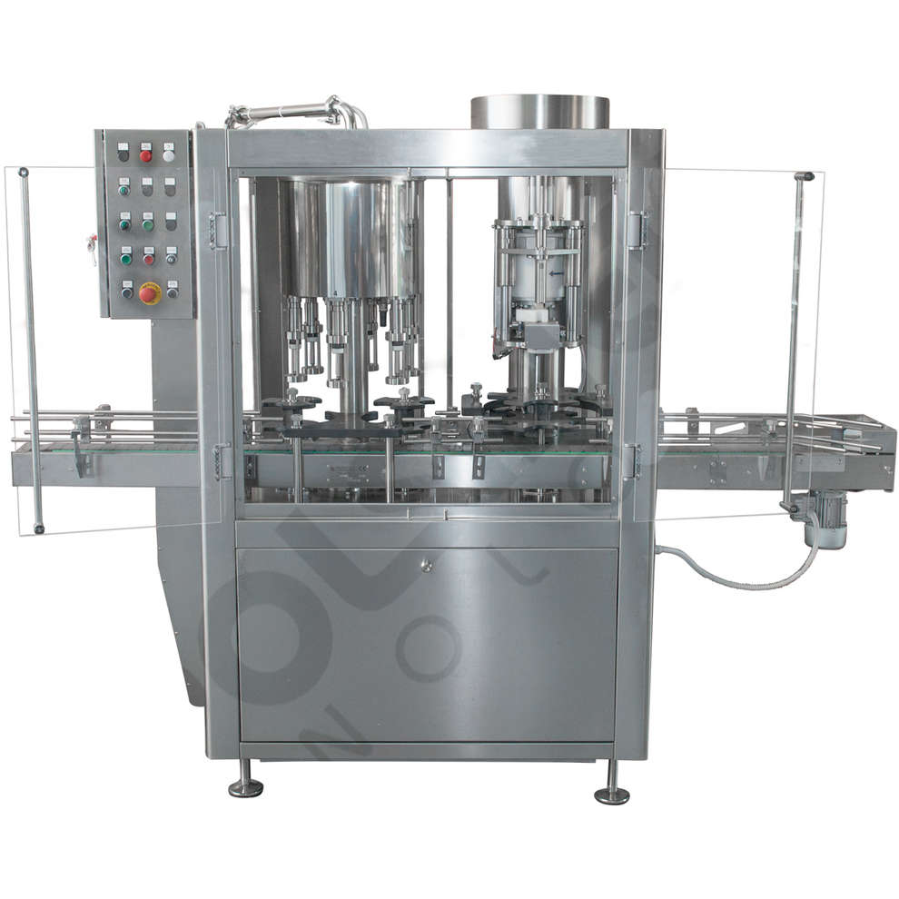 Automatic Filling and Capping Machine Pro 6
