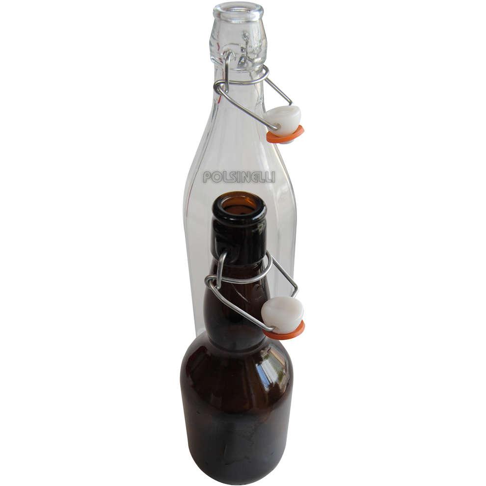 Bügelverschluss für Flasche von 1 L (St. 10)