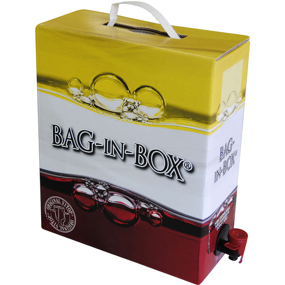 Bag-in-box lt. 5 con sacca