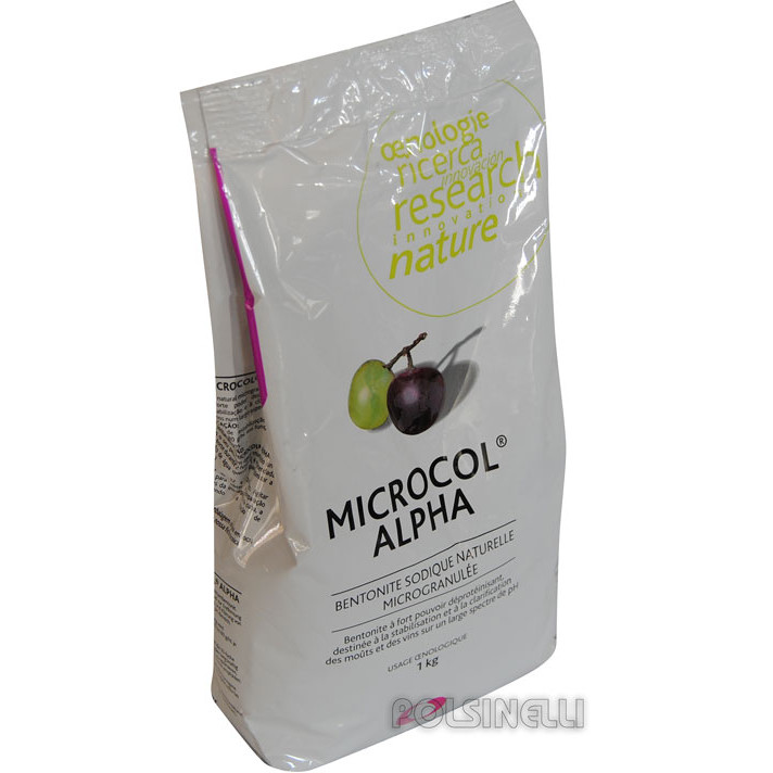 Bentonite Microcol Alpha (1 kg)