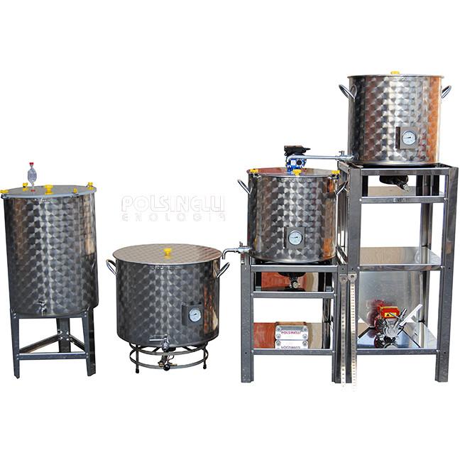 Bierherstellung Anlage Easy 100