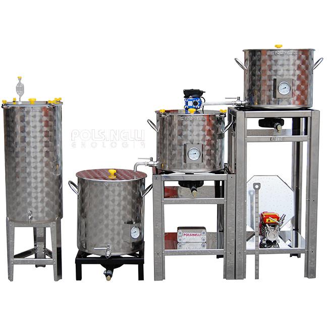 Bierherstellung Anlage Easy 50