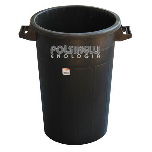 Black bin 100 Lt