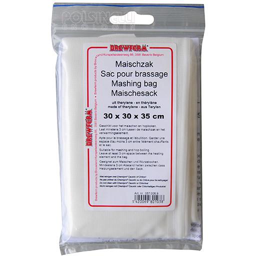 Bolsa de filtro para los granos de malta