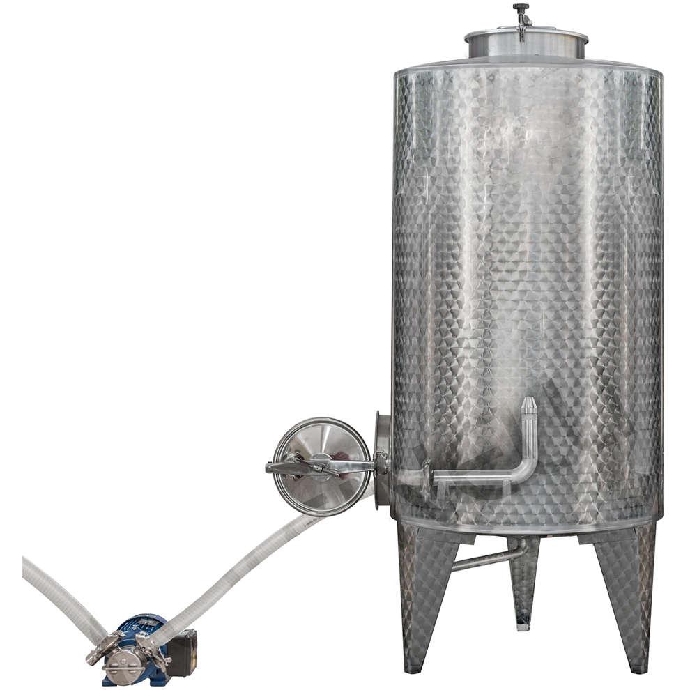 Boquilla de dispersión para limpieza de los despósitos en acero inox
