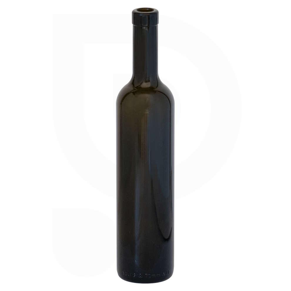 Botella bordolesa Europea 500 mL uvag (20 pzas)