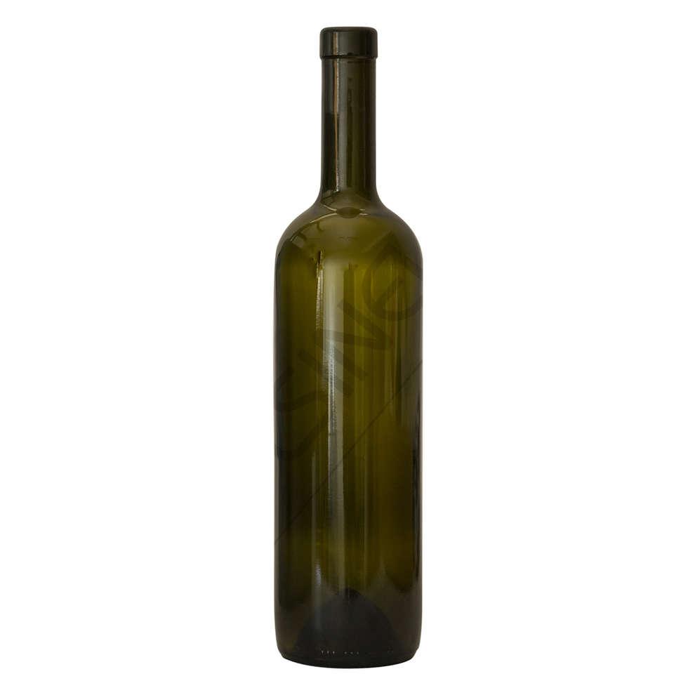 Botella bordolesa Europea 750 mL uvag (20 pzas)