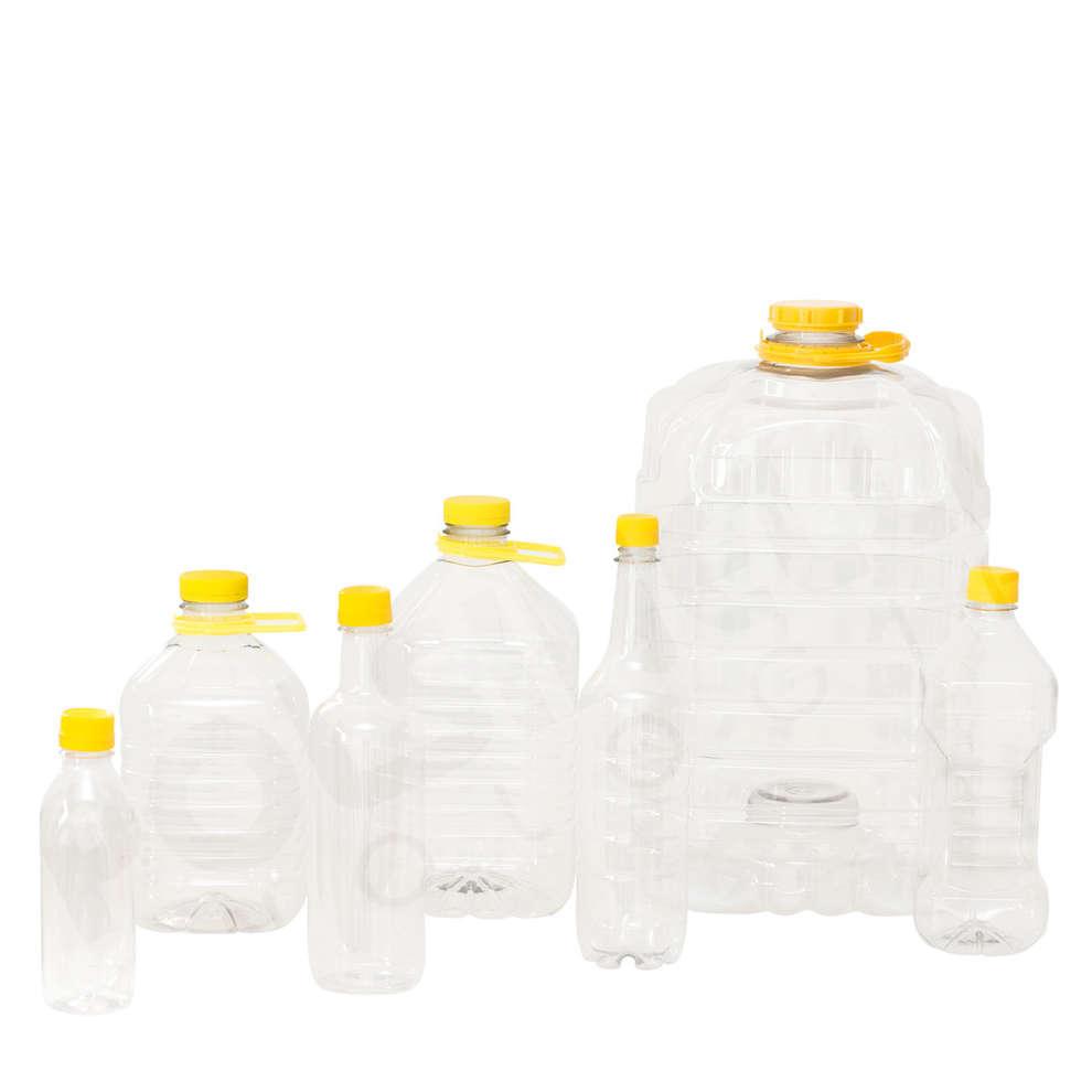Botella de PET 1 L (196 pzas)